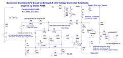 Sinusoidal LFO with Voltage Controlled Amplitude