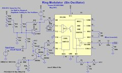 Ringmodulator Using XR2206.