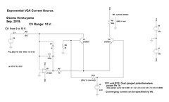Variable Response Current Sources for VCA. Pt. 1.