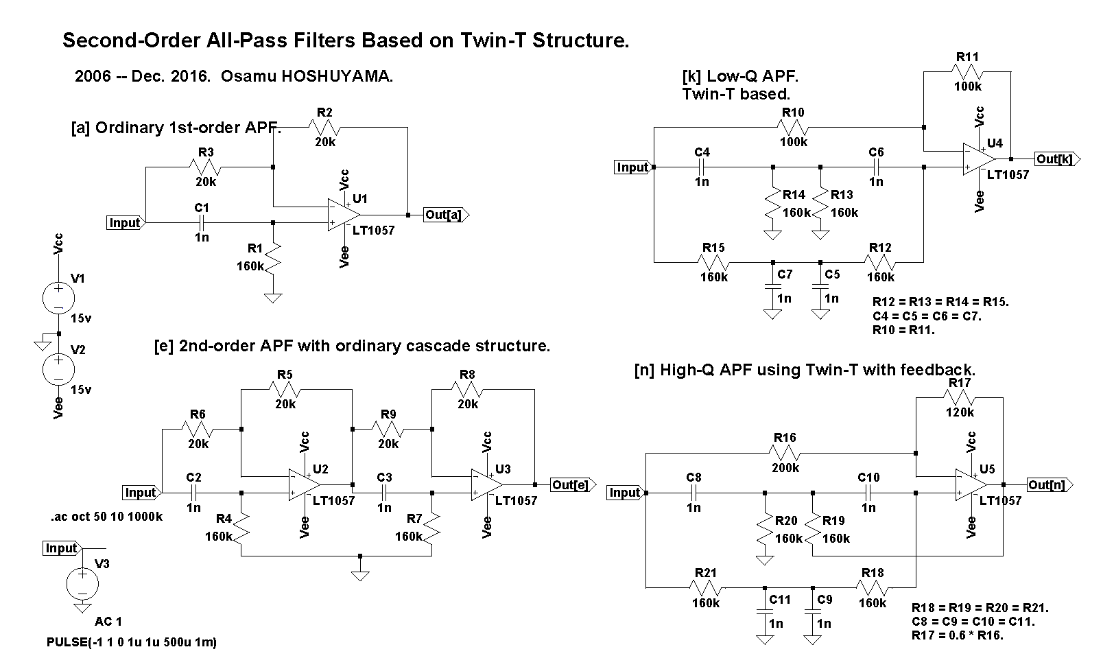 Second Order All Pass Filters Pt 2