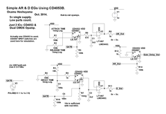 Atack-Release, Decay, and Gate Delay Using CD4053.