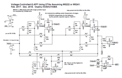 OTA-based APF with voltage controlled Q, Pt. 2.