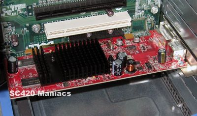 DELL PowerEdge SC430でRADEON X600SE動作OK