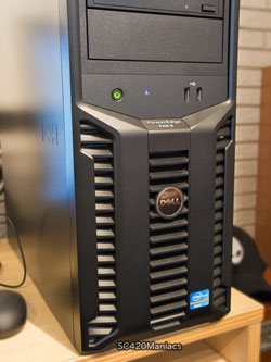 デル PowerEdge T110 II 正面