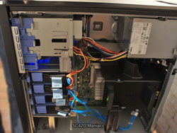 デル PowerEdge T110 II 内部