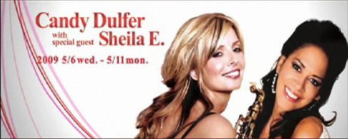 Candy Dulfer live in Blue Note Tokyo 2009