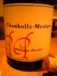 Philippe Pacalet Chambolle-Musigny 2002