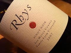 Rhys Pinot Noir Family Farm Vineyard 2007