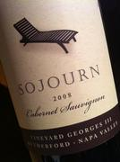 Sojourn 2008 CS Vineyard George III