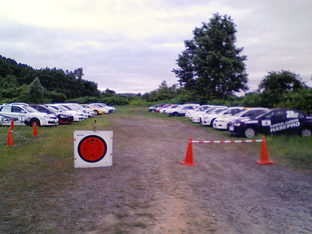 ARK RALLY in 後志 SS8/14(DAY1)