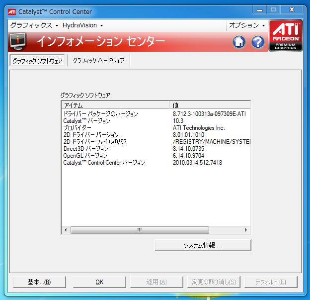 ATI Catalyst 10.3 Windows 7 | Vista