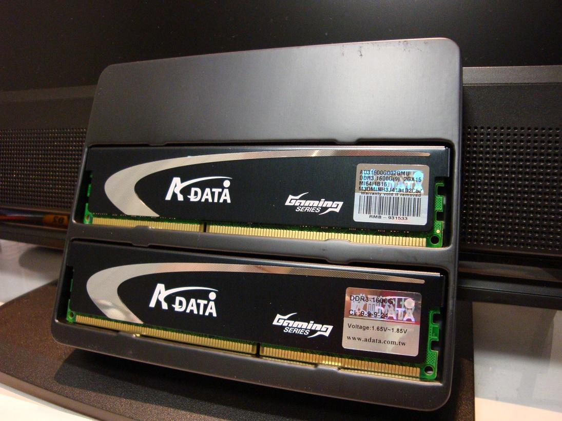 A-DATA Extreme Edition DDR3 1600G