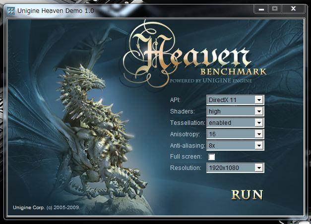 Unigine Heaven DirectX 11 benchmark UPされています!
