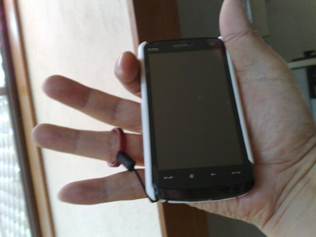 HTC touch HD購入記(オプション品)