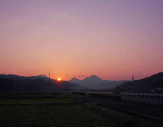 �啪 �������� �[�Ă� �[��� Oita sunset twilight �摜