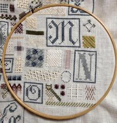 SAMPLER OF STITCHES  by AKI