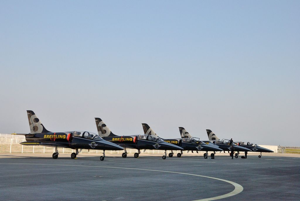 BREITLING JET TEAM WELCOME EVENT IN KOBE