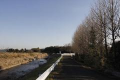 Winter's river 冬の川