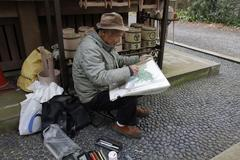 Old painter 老画家