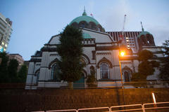 Holy Resurrection Cathedral 夜のニコライ堂