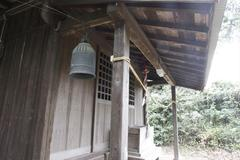 A small bell 鐘楼がない鐘