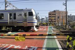 Railroad crossing 踏切