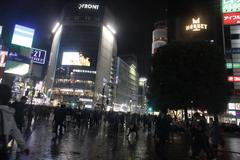 night in Shibuya 渋谷の夜
