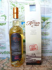 The Arran Malt 100��Proof 57�x�@�A�C�� �I�u �A�����������@�X�R�b�g�����h
