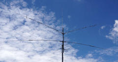 Antenna installation 50MHz