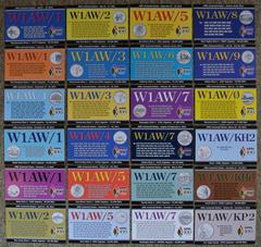 W1AW QSL card arrived
