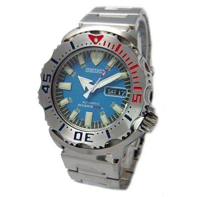 Seiko BLUE MONSTER Diver's Watch SKZ213K1