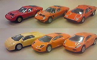 Lamborghini Miniature car collection 1:100