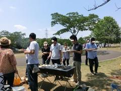 BBQと再会
