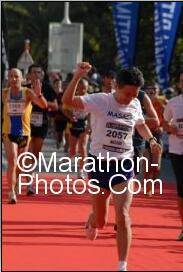 A picture of Nice Cannes marathon