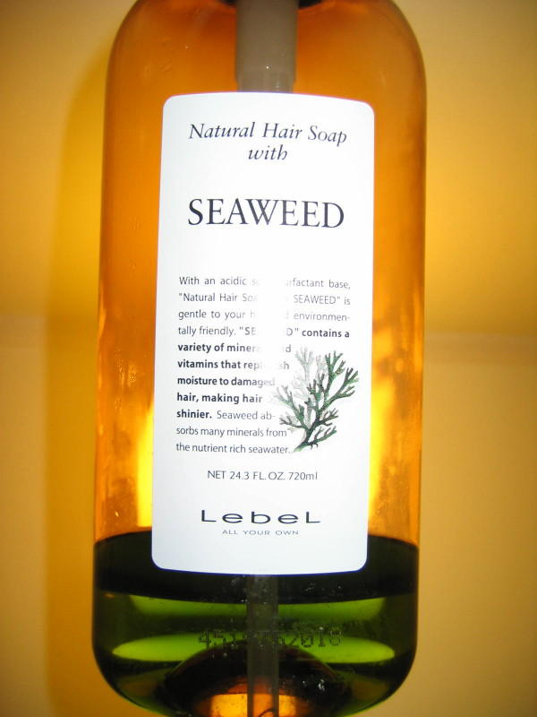 Natural Hair Soap with SEAWEED