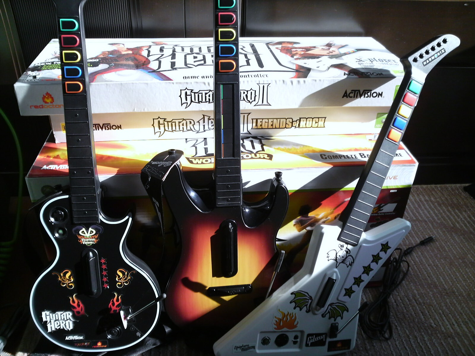 Guitar Hero World Tour Band Kit �A