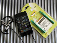 iPod touch バッテリー交換