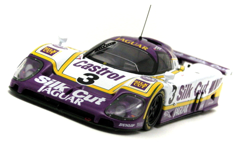 "LeMans 1988「ジャガー XJR-9 LM #3 ""Silk Cut""」ixo 1/43"