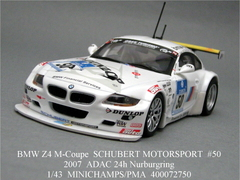 ADAC 24h 2007「BMW Z4 M-Coupe #50」MINICHAMPS 1/43