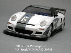 「9ff GT9 R Prototype 2010」Spark 1/43