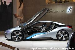 BMW i8 Concept  photoed by 東京モーターショー