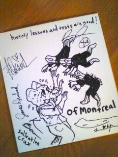 of Montrealのサイン