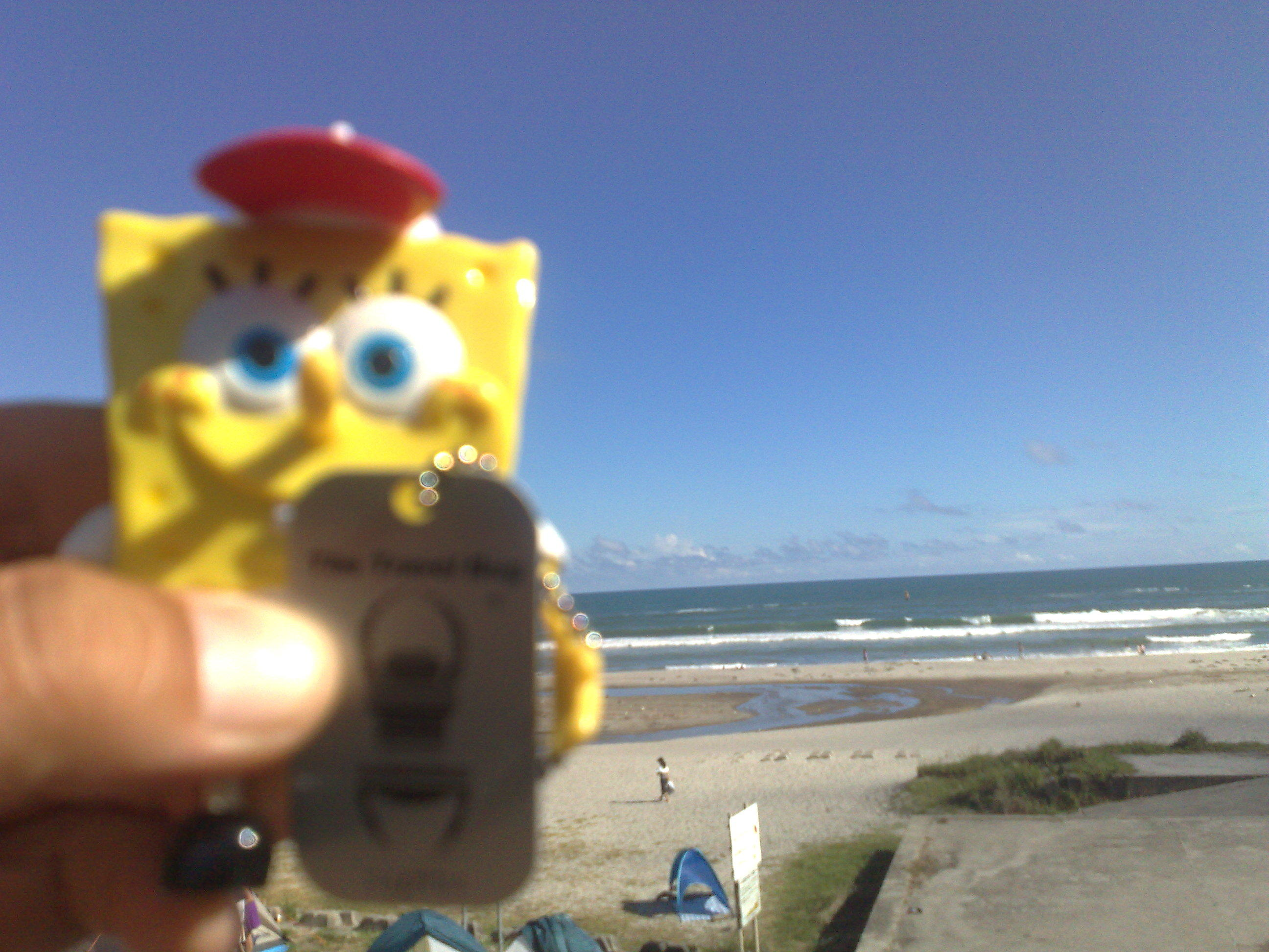 Bob at the Pacific Ocean