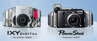 IXY Digital 810 IS、Powershot S5 IS 触ってきました。