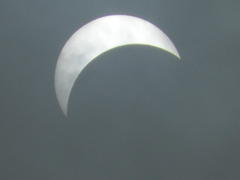金環日食 Solar Eclipse...
