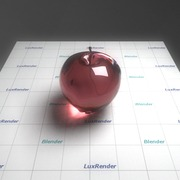 Blender 2.55 and LuxRender 0.8 Apple