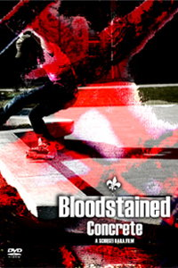 "DVD ""Bloodstained Concrete"""