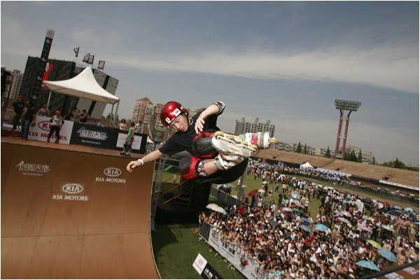Takeshi Yasutoko in Asia X Games 2008