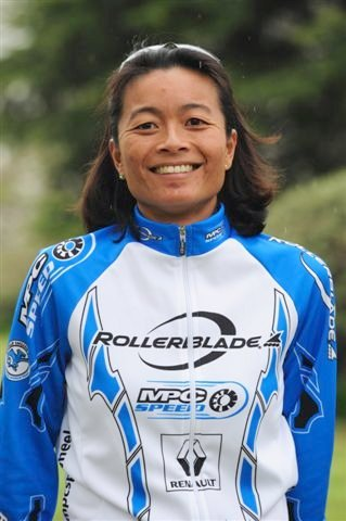 Hoa Wunderli of Rollerblade World Team