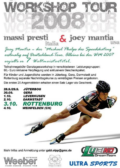 Joey Mantia & Massi Presti Workshop Tour 2008